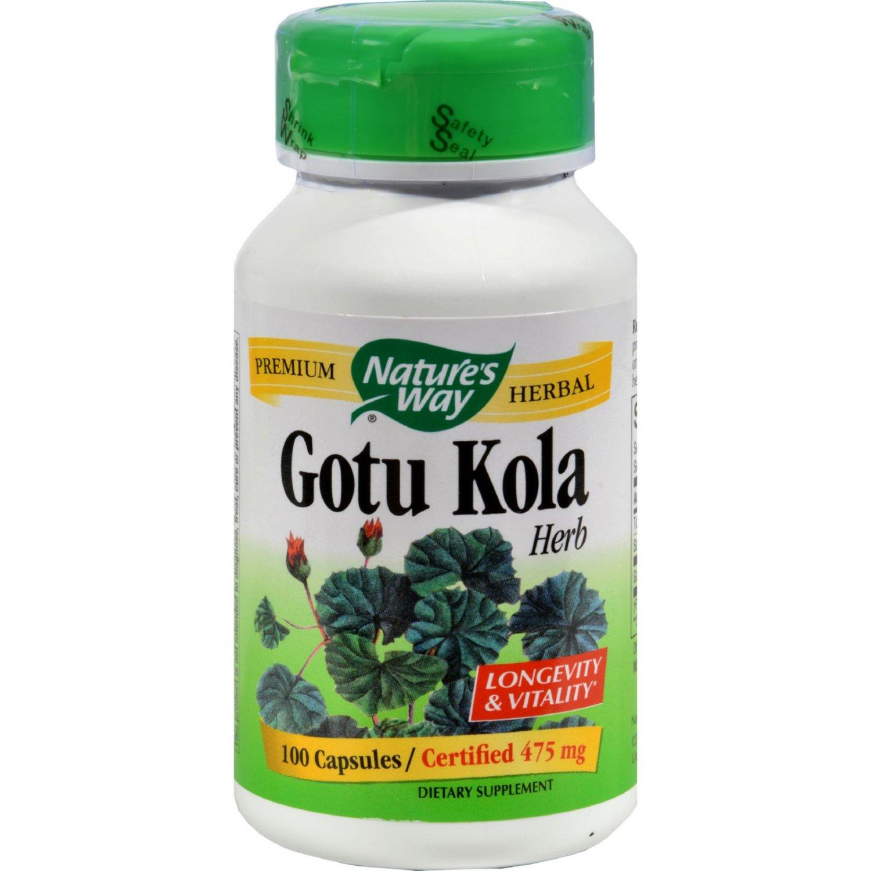 Nature's Way Gotu Kola Herb - 100 Capsules