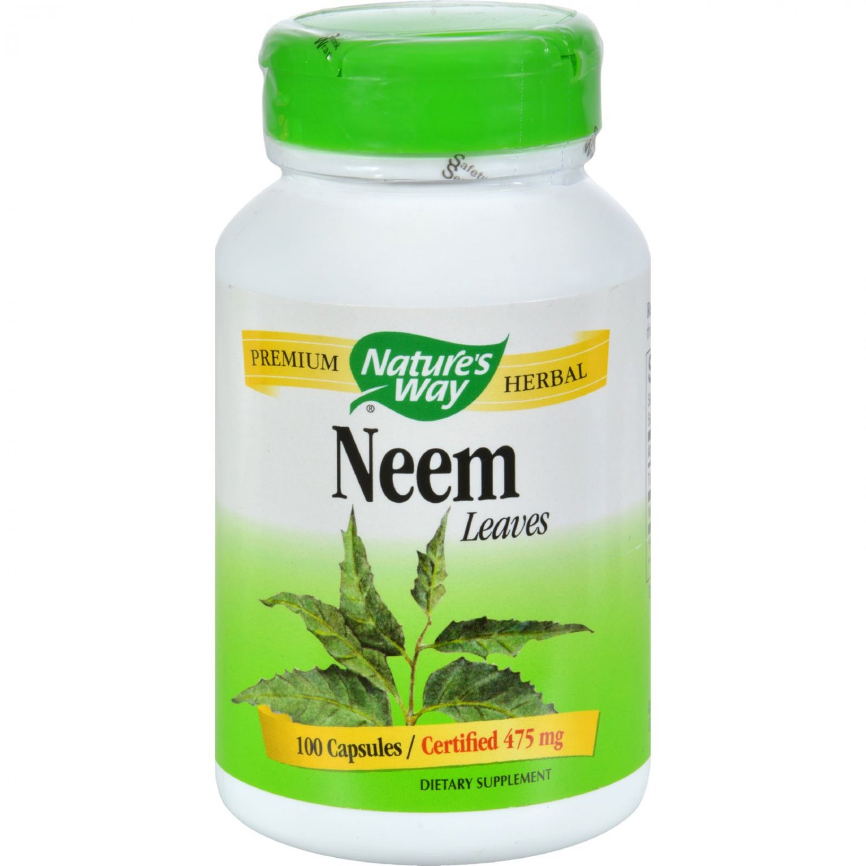 Nature's Way Neem - 475 mg - 100 Capsules