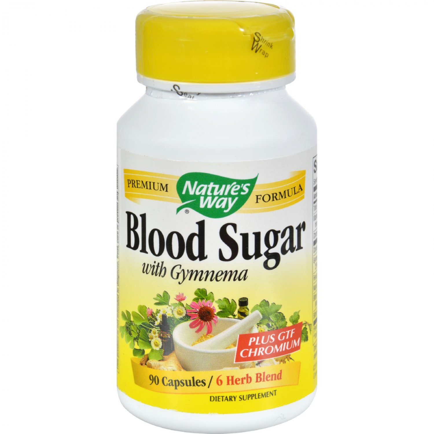 Nature's Way Blood Sugar with Gymnema - 90 Capsules