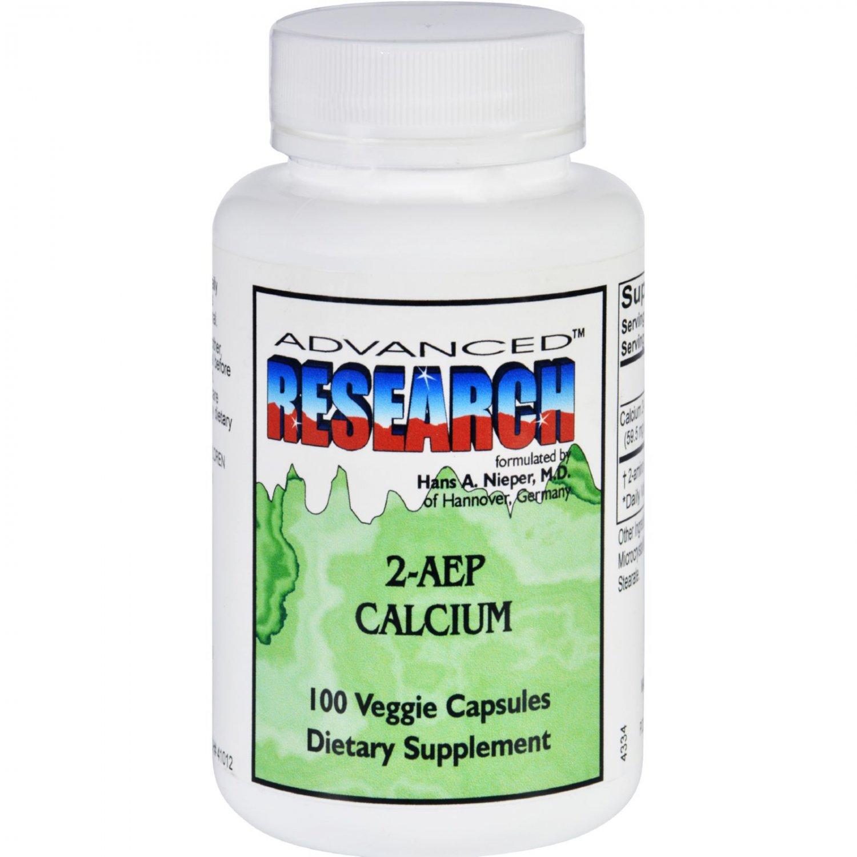NCI Dr. Hans Nieper 2AEP Calcium - 100 Capsules