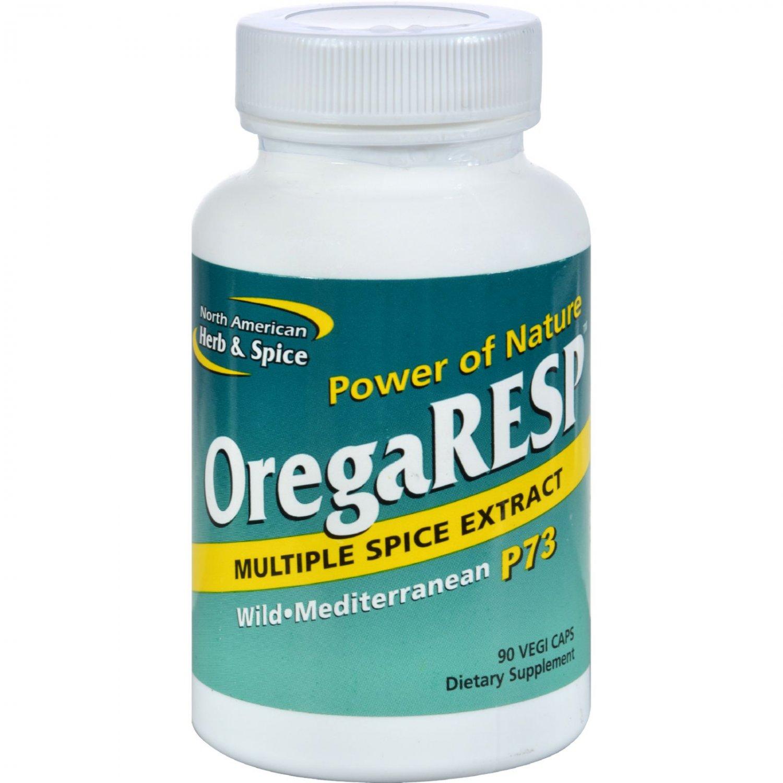 North American Herb and Spice OregaRESP - 90 Vegetarian Capsules