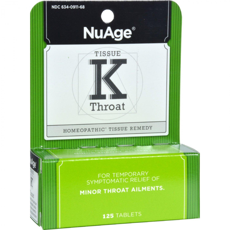Hyland's Tissue K Throat - 125 Tablets