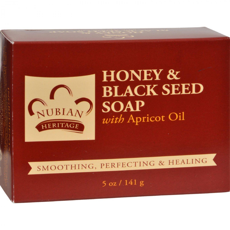 Nubian Heritage Bar Soap Black Seed - 5 oz