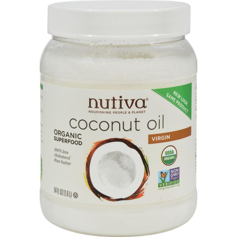 Nutiva Virgin Coconut Oil Organic - 54 fl oz