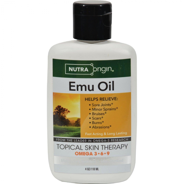 Nutra Origin Omega 3-6-9 Liquid Emu Oil - 4 fl oz