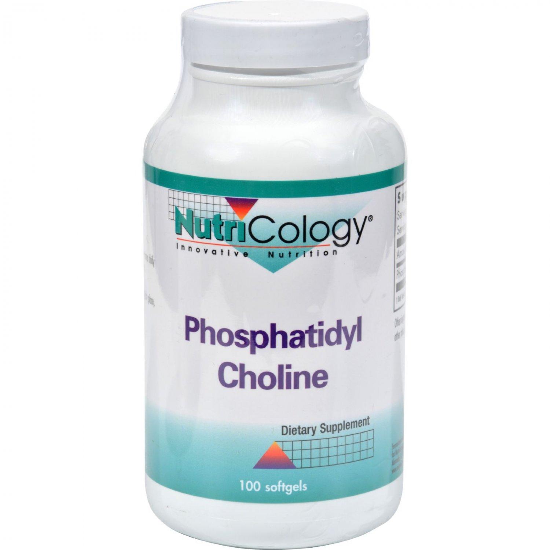 Nutricology Phosphatidyl Choline - 100 Softgels