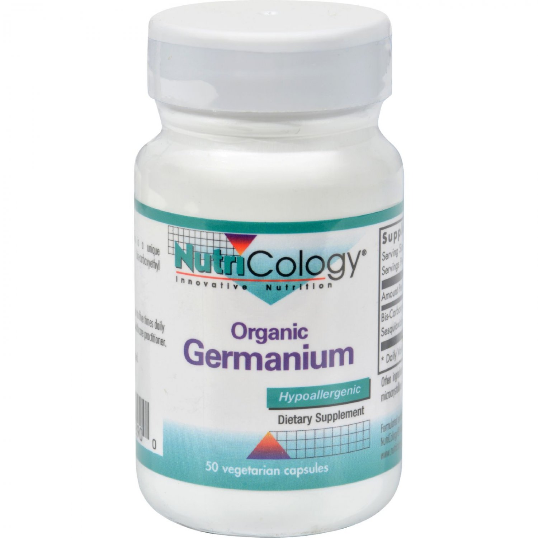 NutriCology Organic Germanium - 150 mg - 50 Capsules