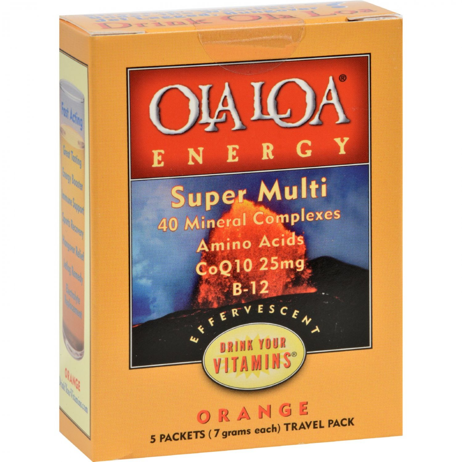 Ola Loa Energy Orange - 5 Packets