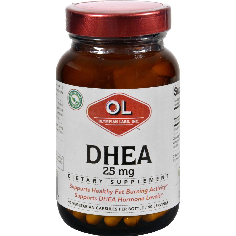 Olympian Labs DHEA - 25 mg - 90 Capsules