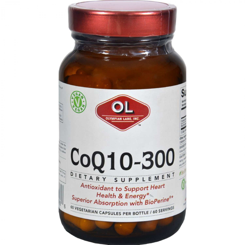 Olympian Labs Co Q10 - 300 mg - 60 Vegetarian Capsules