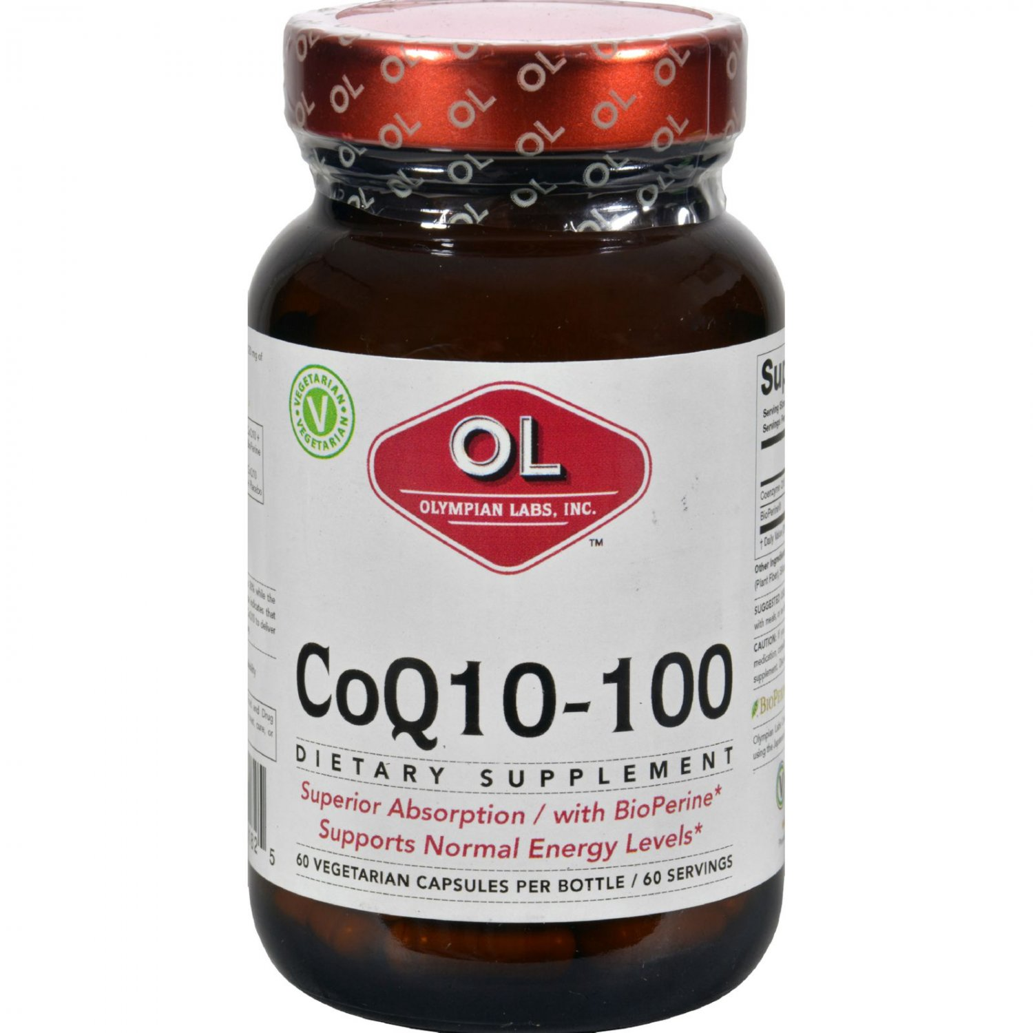 Olympian Labs Coenzyme Q10 - 100 mg - 60 Capsules