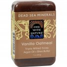 One With Nature Dead Sea Mineral Vanilla Oatmeal Soap - 7 oz