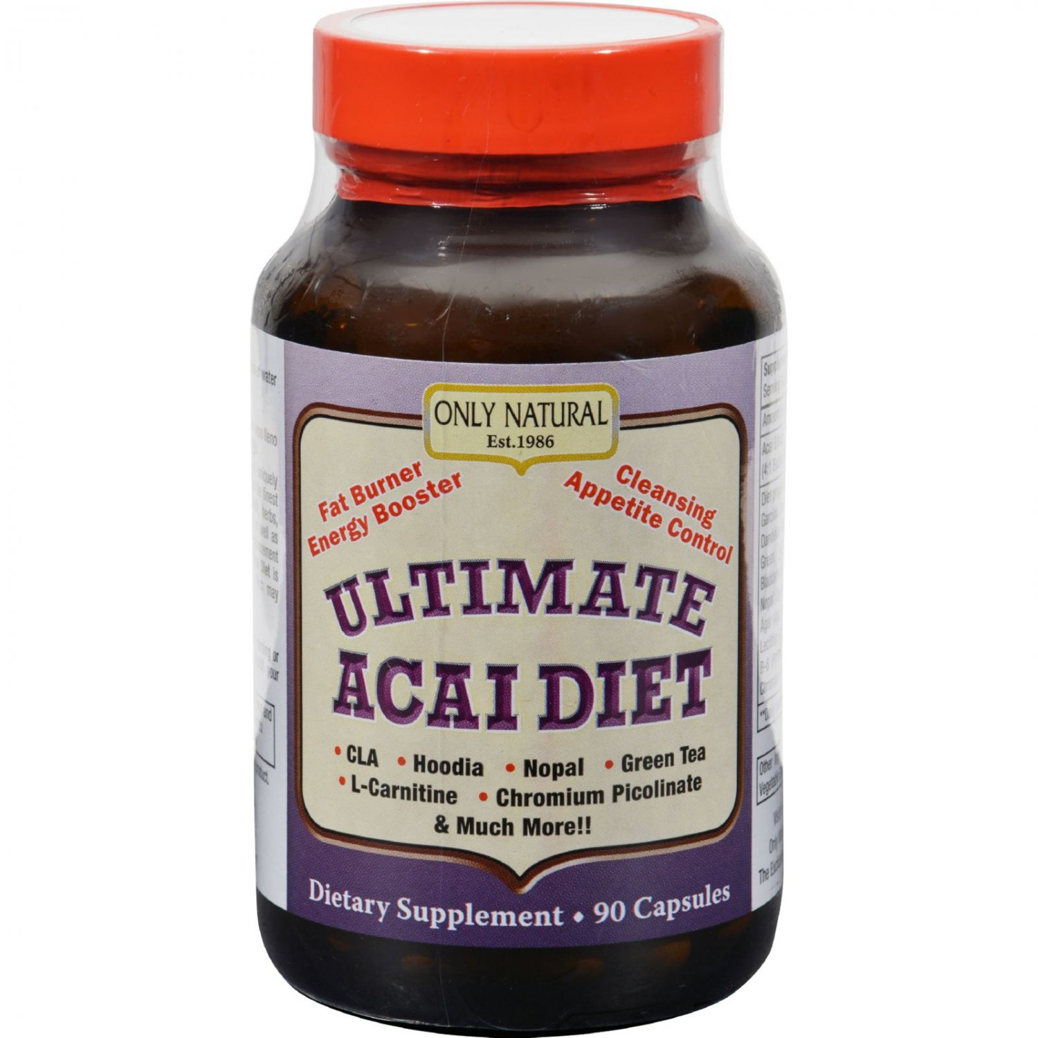 Only Natural Ultimate Acai Diet - 90 Capsules