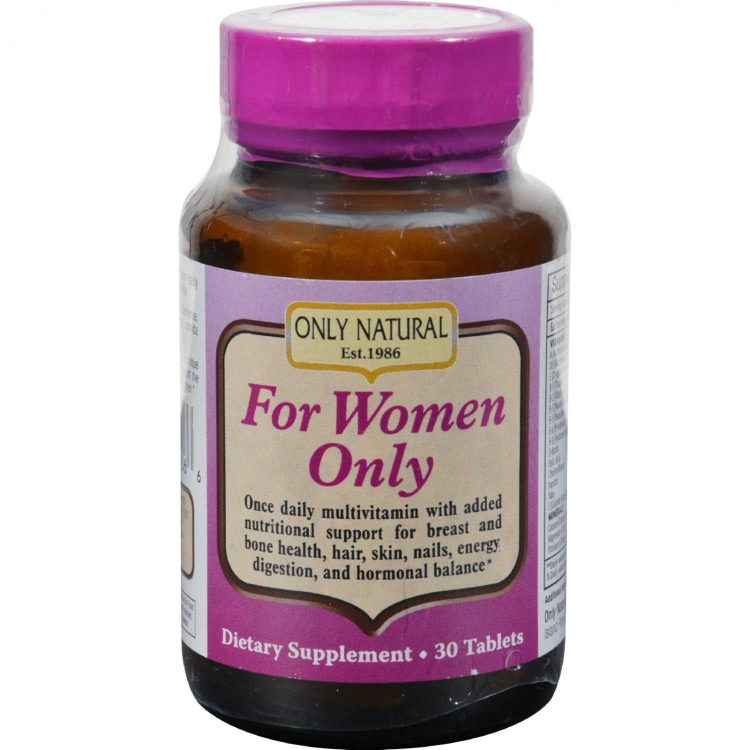 Only Natural For Women Only - 30 Tablets