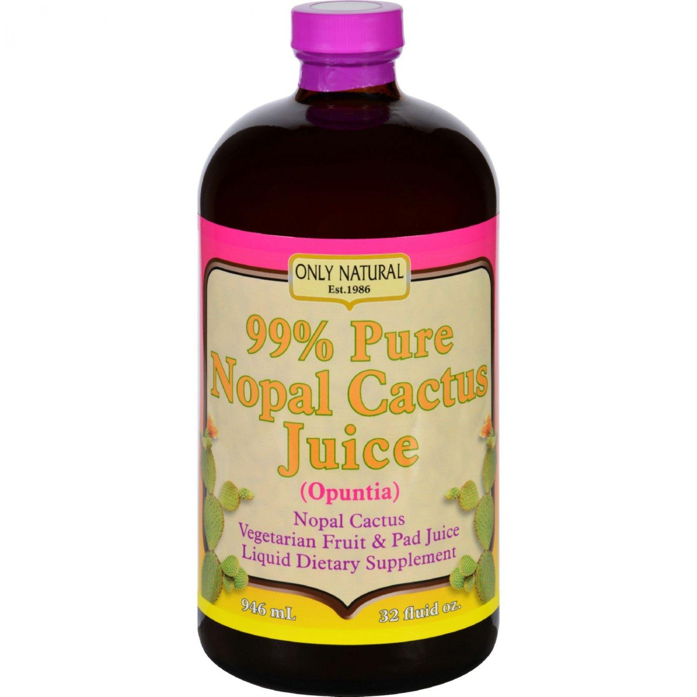 Only Natural Nopal Cactus Juice - 32 fl oz