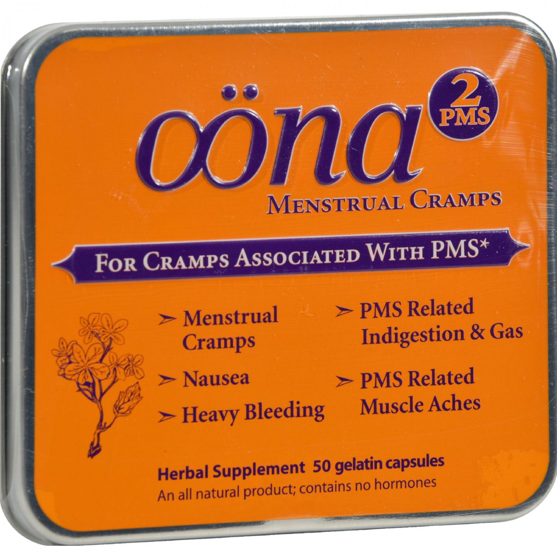 Oona PMS2 - 50 Gelatin Capsules - Case of 5