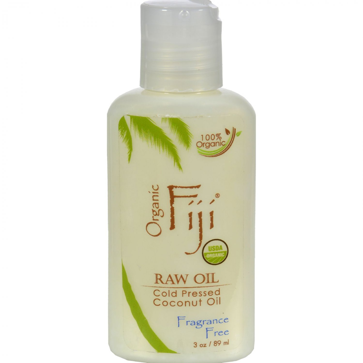 Organic Fiji Virgin Coconut Oil Fragrance Free - 3 oz