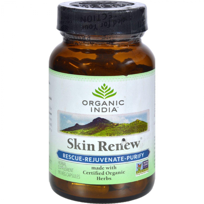 Organic India Skin Renew - 90 Vegetarian Capsules