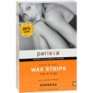 Parissa Wax Strips Legs And Body - 16 Strips
