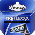 Personna Tri Flex Cartridge - 8 Pack