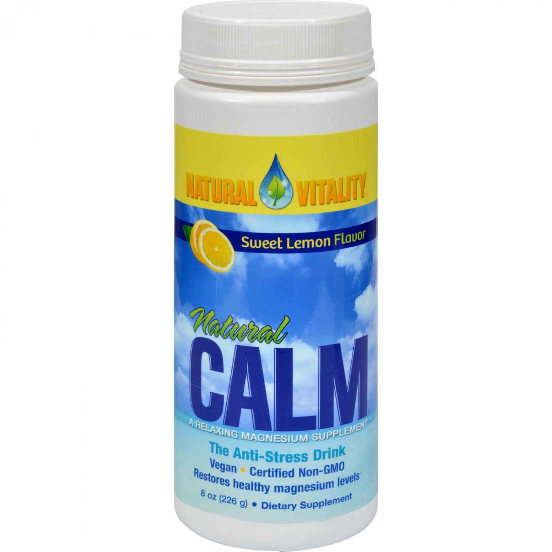 Natural Vitality Natural Calm Sweet Lemon - 8 oz