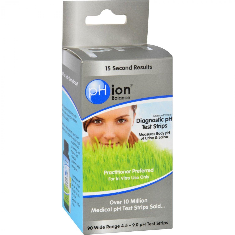 pHion Balance Diagnostic pH Test Strips - 90 Pack
