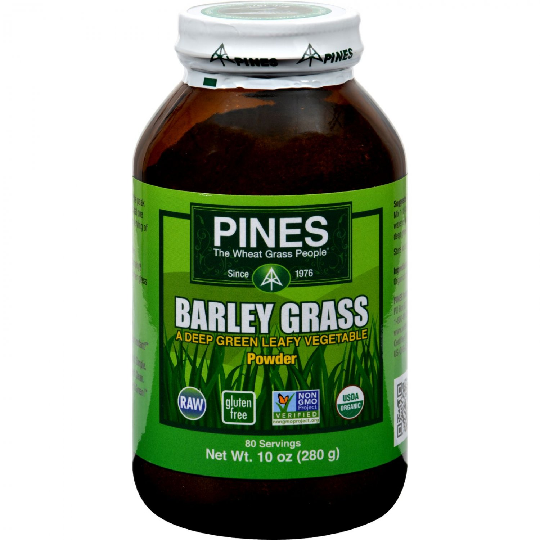 Pines International Barley Grass Powder - 10 oz