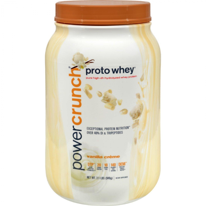 Proto Whey Protein Powder - Vanilla Cream - 2 lbs