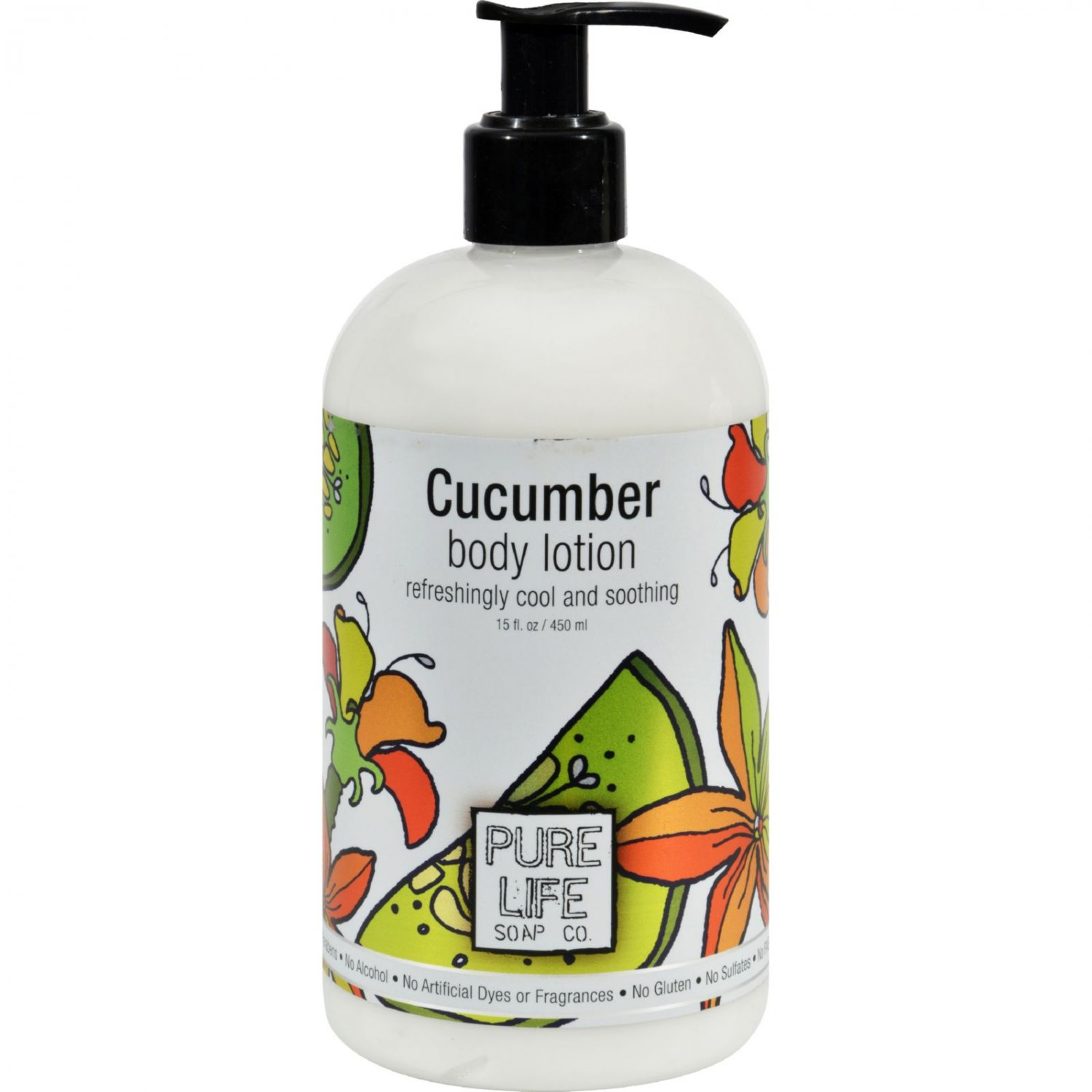 Pure Life Body Lotion Cucumber - 14.9 fl oz
