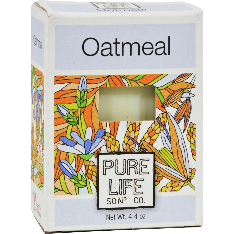 Pure Life Soap Oatmeal - 4.4 oz