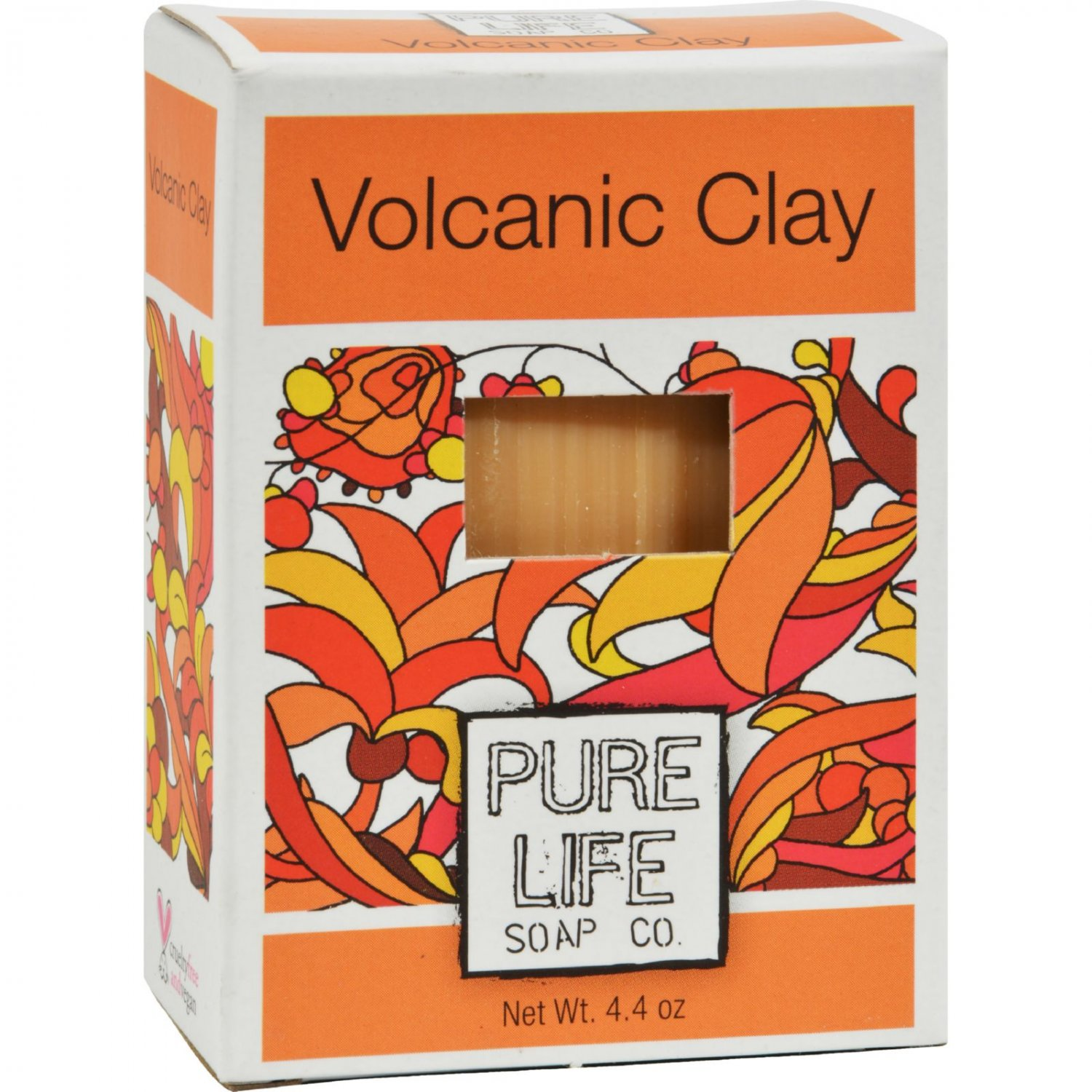Pure Life Volcanic Clay Soap - 4.4 oz