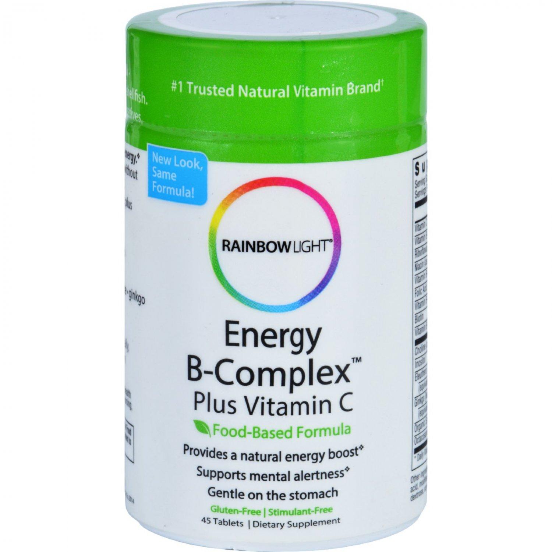 Rainbow Light Energy B-Complex - 45 Tablets