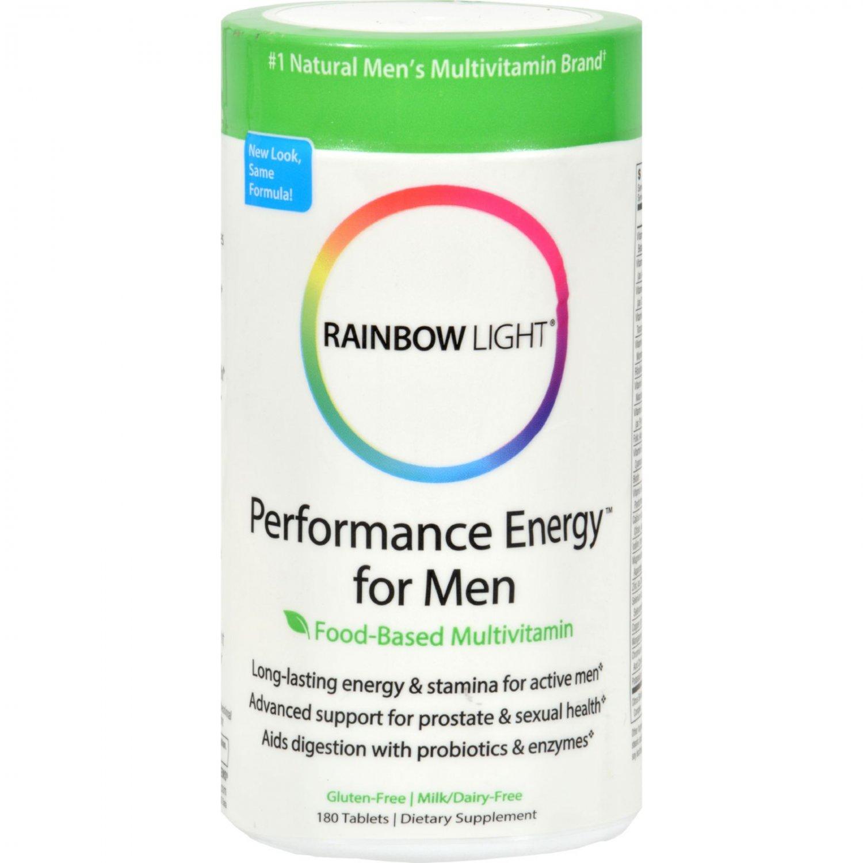 Rainbow Light Performance Energy Multivitamin for Men - 180 Tablets