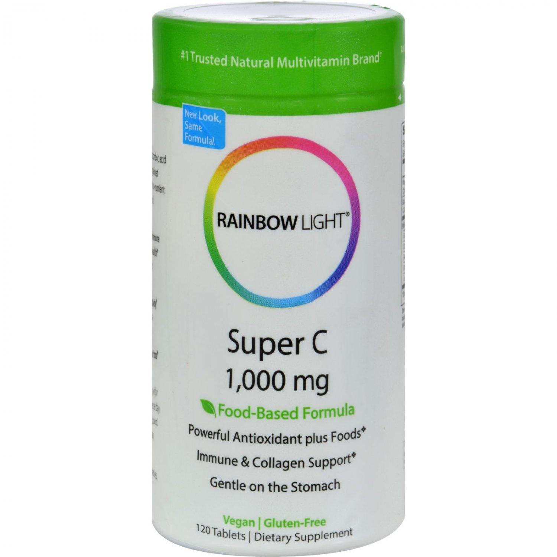 Rainbow Light Super C - 1000 mg - 120 Tablets