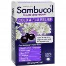 Sambucol Black Elderberry Cold and Flu Relief - 30 Lozenges