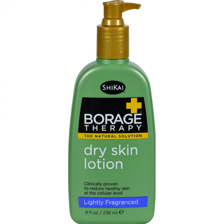 Shikai Borage Therapy Dry Skin Lotion Lightly Fragranced - 8 fl oz