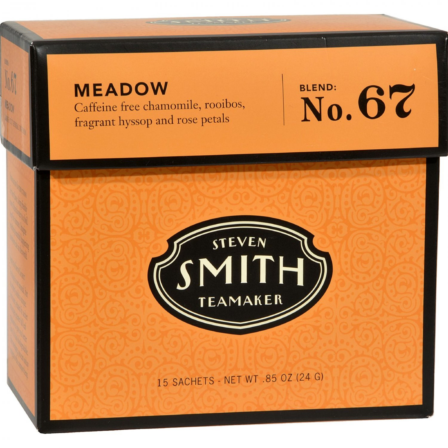Smith Teamaker Herbal Tea - Meadow - Case of 6 - 15 Bags