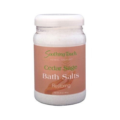 Soothing Touch Bath Salts - Cedar Sage - 32 oz