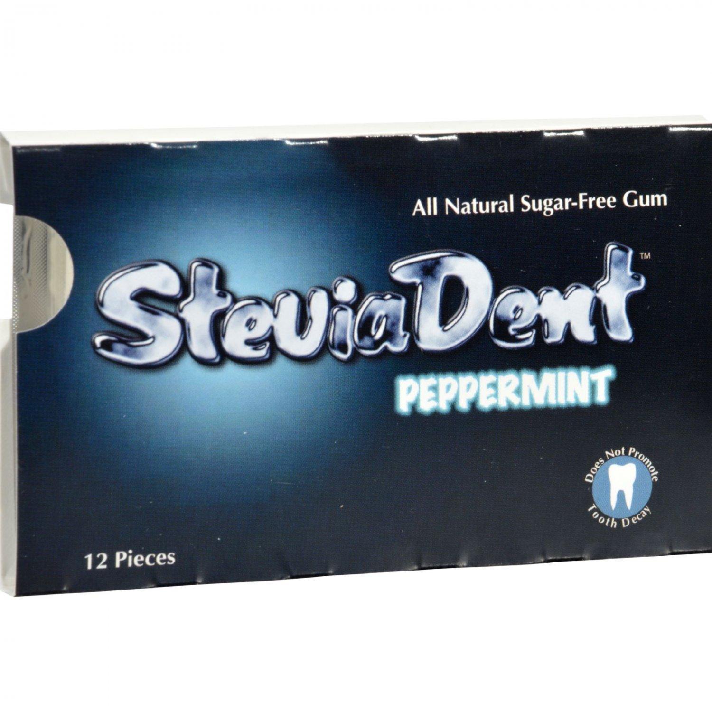 Stevita SteviaDent Peppermint - 12 Pieces - Case of 12