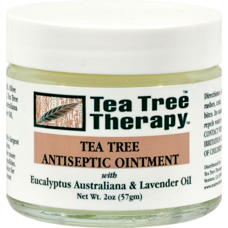 Tea Tree Therapy Antiseptic Ointment Eucalyptus Australiana and Lavender Oil - 2 oz