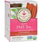 Traditional Medicinals PMS Cinnamon Herbal Tea - 16 Tea Bags - Case of 6