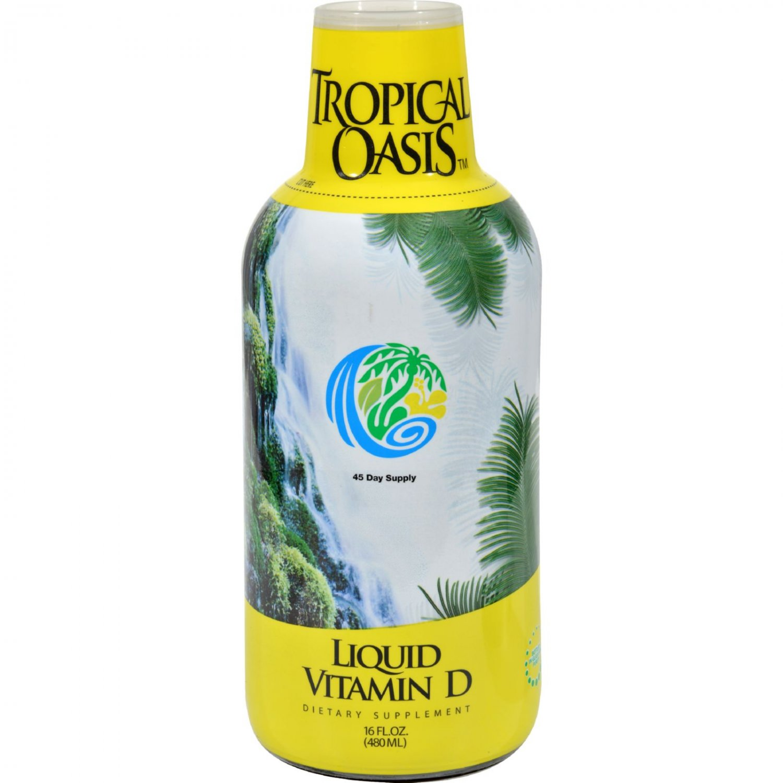Tropical Oasis Liquid Vitamin D - 16 fl oz