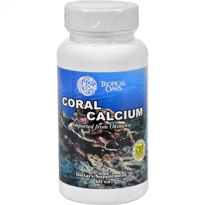 Tropical Oasis Coral Calcium - 60 Capsules