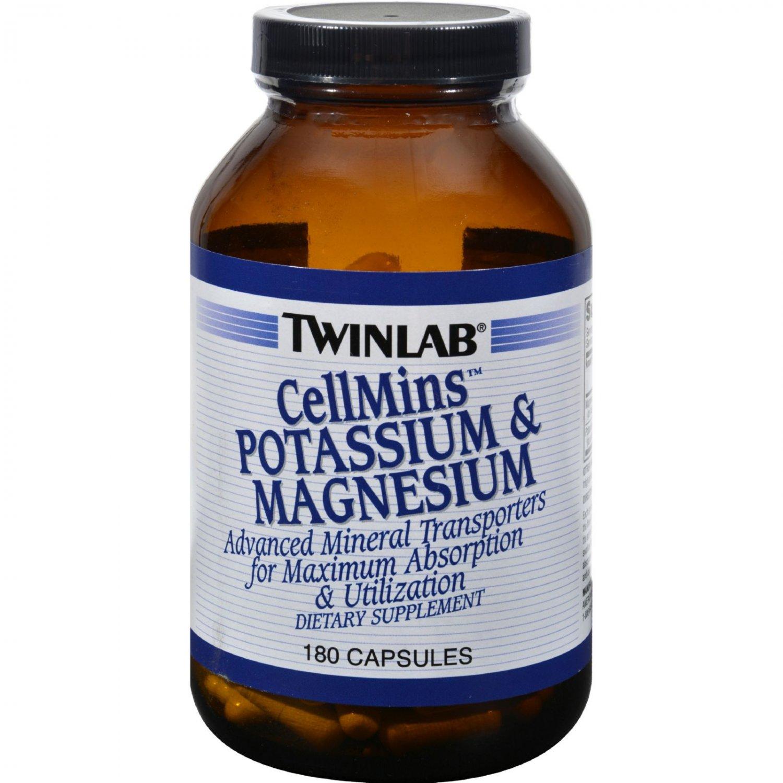 Twinlab CellMins Potassium and Magnesium - 180 Capsules