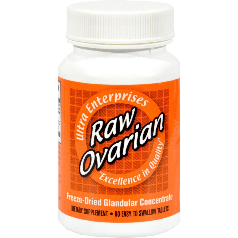 Ultra Glandulars Raw Ovarian - 200 mg - 60 Tablets