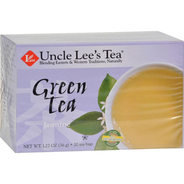 Uncle Lee's Tea Green Tea - Jasmine - 20 Tea Bags