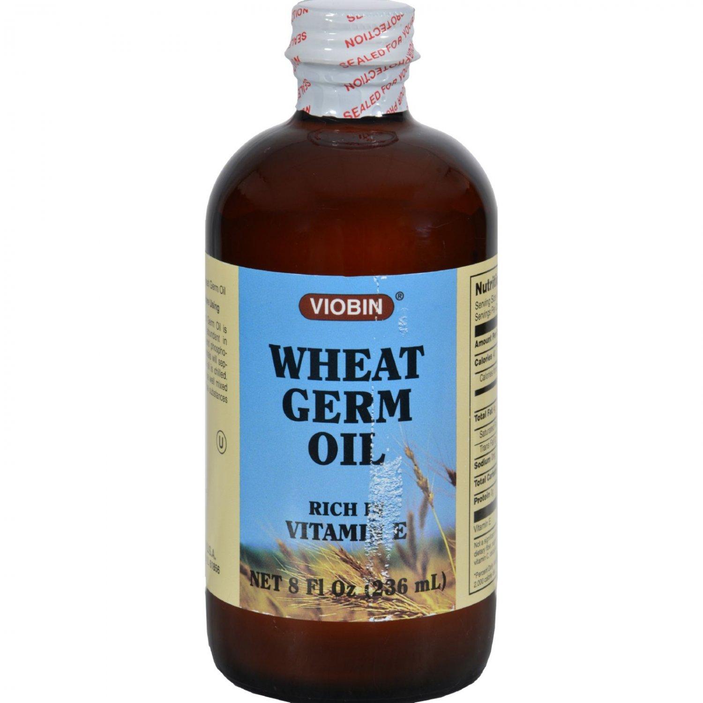 Viobin Wheat Germ Oil - 8 fl oz