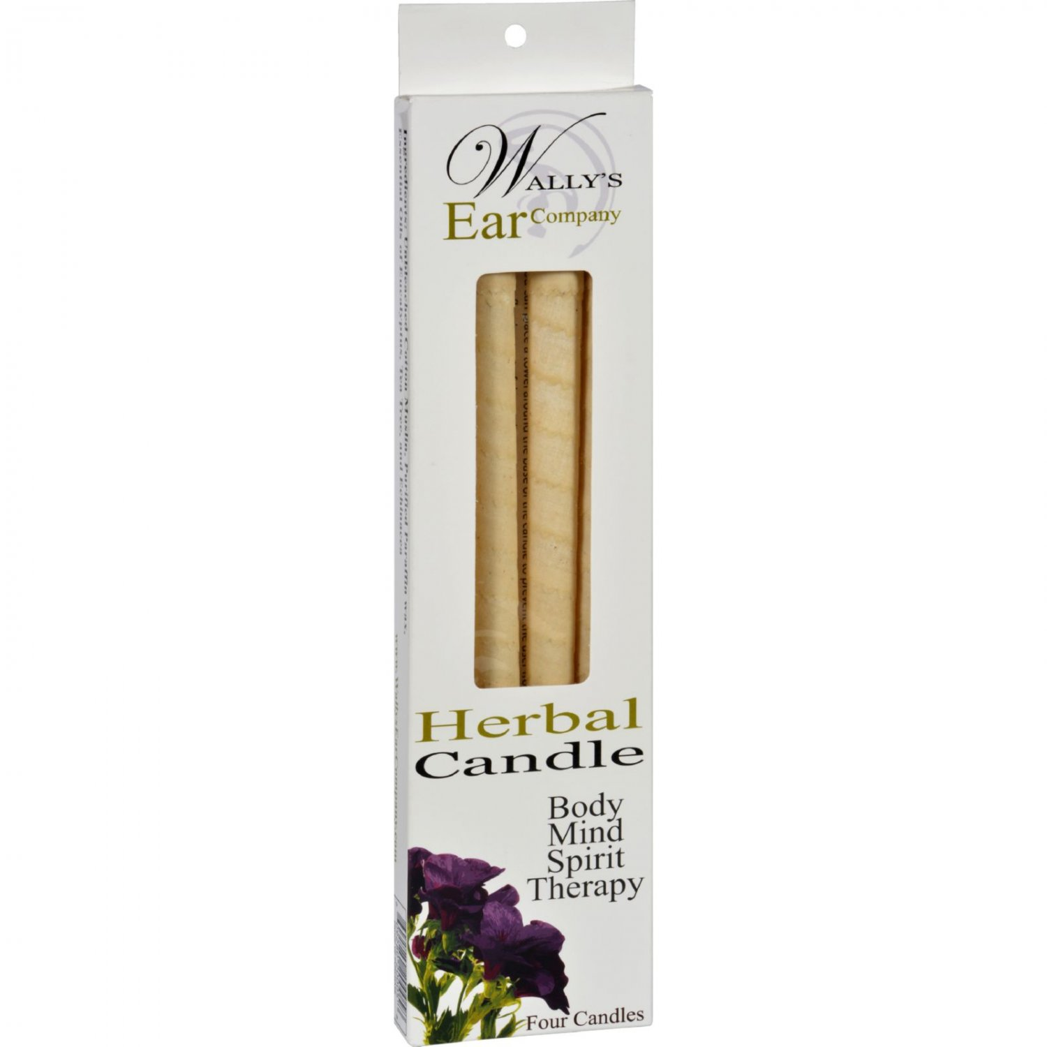 Wally's Candle - Herbal - 4 Candles
