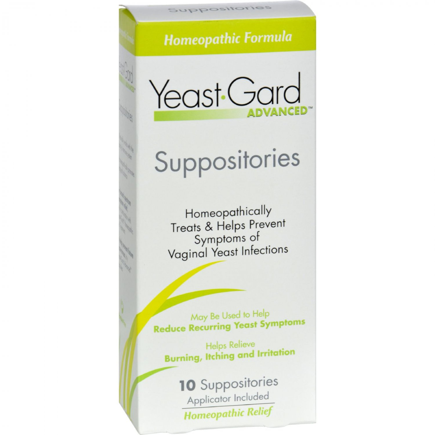 Women's Health Yeast-Gard Advanced Suppositories - 10 Suppositories