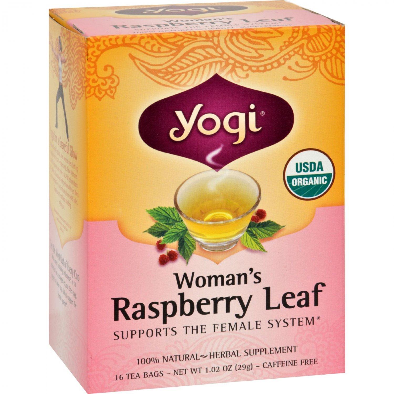 Yogi Tea Woman's Raspberry Leaf - Caffeine Free - 16 Tea Bags
